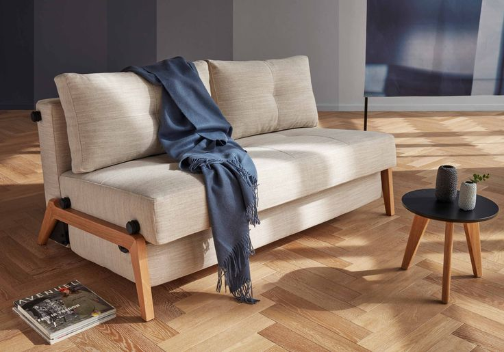 This Understated Sofabed Lends A Bit Breezy Appeal To You At Once Fold Out Foam Cushions Transforms Sofa Into A C Sofa Bed Sofa Bed Wood Sofa Bed With Storage