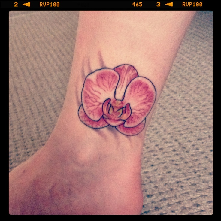 72 Best Orchid Tattoos Images On Pinterest Orchid Tattoo