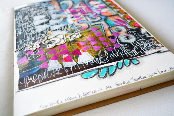 art journaling the fabric of my life — R A E M I S S I G M A N