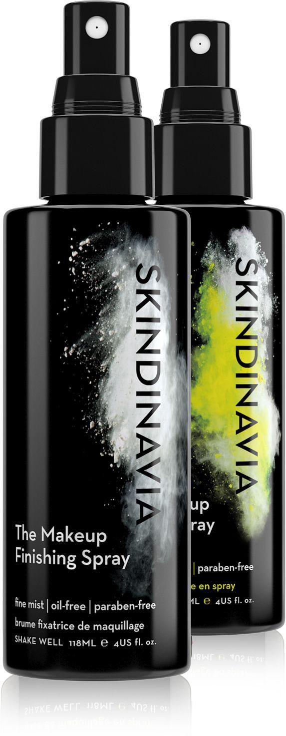 Skindinavia prep & set kit-- primer and finishing spray, 8 oz each