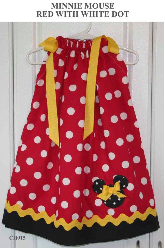 Featuring Minnie Mouse Pillowcase Dress by GiraffesJellybeans $23.99 & 179 best Emily\u0027s 1st Birthday images on Pinterest   Birthday party ... pillowsntoast.com