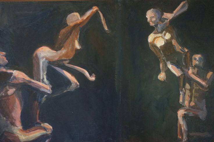 Work by Master Painter Randolph Algera. Algera volgt momenteel de 5-jarige Master Opleiding aan de Klassieke Academie voor Beeldende Kunst te Groningen. Door kunstkenners wordt hij als kunstschilder tot de 'Noordelijke Realisten' beschouwd. Zijn werk wordt veelal ook gezien als magisch realistisch, soms neigend naar het abstracte.