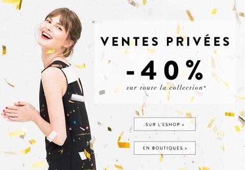 Vente Privée / Pré-soldes hiver 2015 Sinéquanone