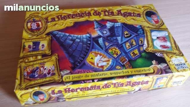 Vendo Juego La Herencia de Tía Ágata, año 2004.