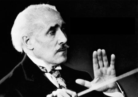 Arturo Toscanini (1867-1957) was an Italian conductor. One of the most acclaimed musicians of the late 19th and 20th century, he was renowned for his intensity, his perfectionism, his ear for orchestral detail and sonority, and his photographic memory. As music director of the NBC Symphony Orchestra he became a household name (especially in the United States) through his radio and television broadcasts and many recordings of the operatic and symphonic repertoire.