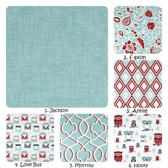 This listing is for one (1) pillow cover. This new pattern has beautiful canal blue and red. All these patterns look great together so you can mix and match.  ~ Please choose your pillow cover size at checkout ~  ** Covers measure slightly smaller than listed so a form will fit perfectly. ** Covers have a envelope back. You can purchase forms at Joann Fabric stores, Hobby Lobby or your nearest craft store. ** All stress points are triple stitched for durability. ** Covers are machine…