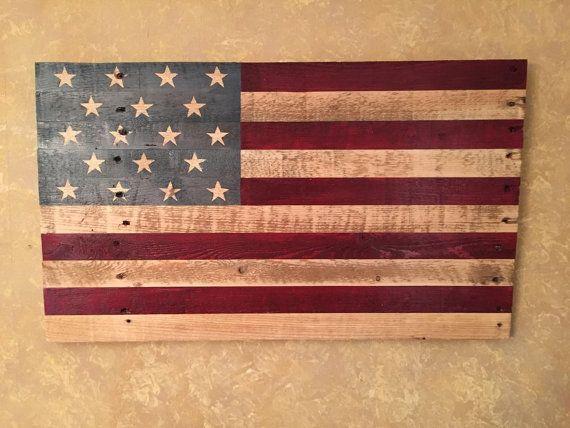 Reclaimed Wooden American Flag - Handmade Wooden American Flag - Wood  American Flag - Reclaimed Wood American Flag - Best 25+ Wooden American Flag Ideas On Pinterest American Flag