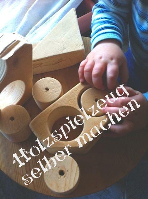 holzspielzeug selber gemacht aus restholz basteln. Black Bedroom Furniture Sets. Home Design Ideas