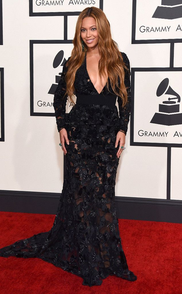 Beyoncé from 2015 Grammys: Red Carpet Arrivals….beautiful   In Proenza Schouler…but she does look a bit too conservative
