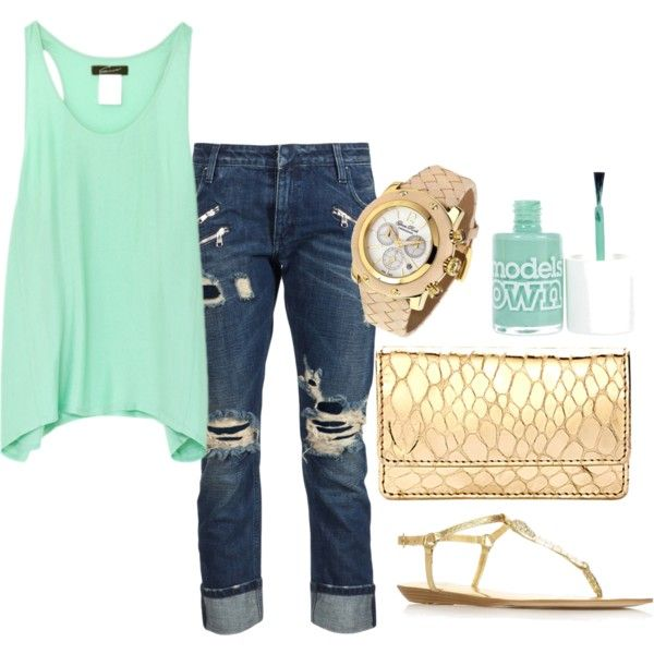 Mint and Gold.