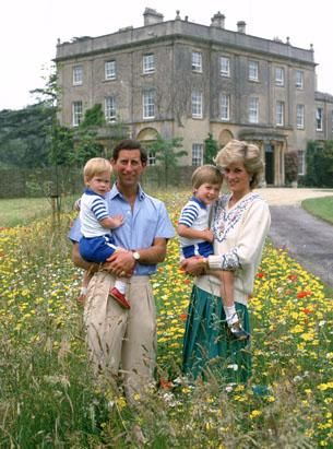 The Life of Princess Diana - ABC News - contains a beautiful collection of photos - the Royal family at Highgrove, Tetbury, England