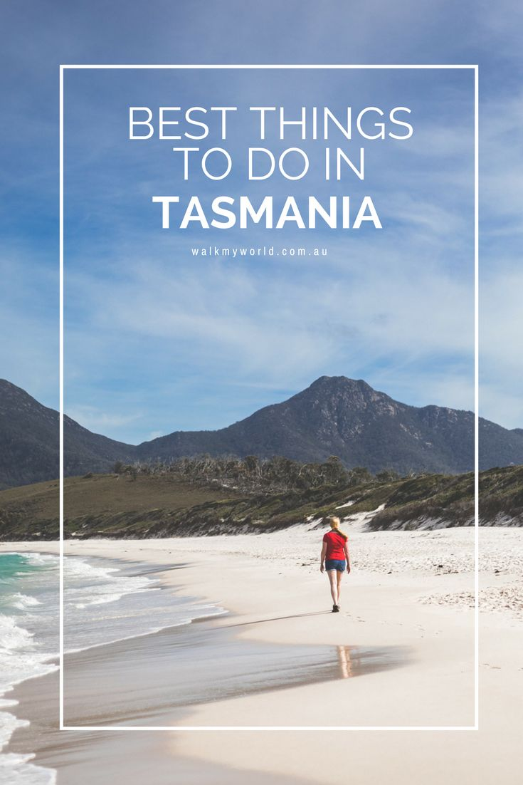 The best things to do in Tasmania, one of Australia's most underrated holiday destinations.