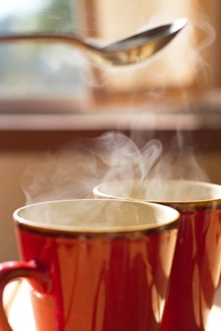 The aroma of coffee... ♥