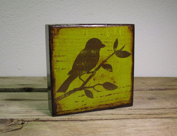 18 best Bird silhouette painting images on Pinterest   Silhouette ...