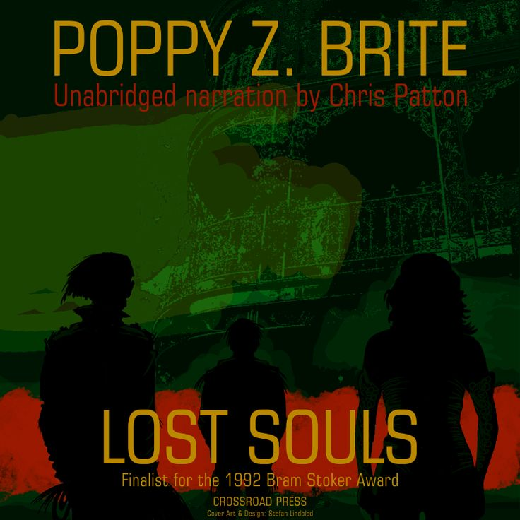 Lost Souls illustration and cover design.  For American independent publisher ebook listening book.