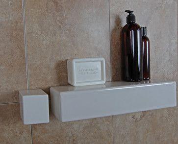 Bathroom Niche & Shelf Store - Modern - Shower Caddies - dc metro - by Bathroom Tile Shower Shelves