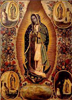 Virgen de Guadalupe. Juan Rodríguez Juárez (Ciudad de México, 1675-1728)