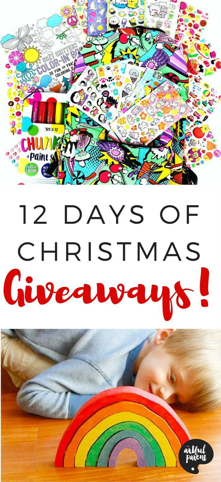 Christmas Giveaways For Kids.12 Days Of Christmas Giveaways Rockin Art For Kids