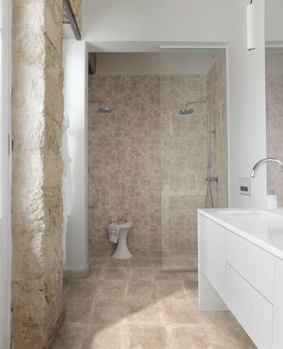 #Emilceramica #Petra Nut Lappato 80x80 cm 804P6P | #Gres #pietra #80x80 | su #casaebagno.it a 49 Euro/mq | #piastrelle #ceramica #pavimento #rivestimento #bagno #cucina #esterno