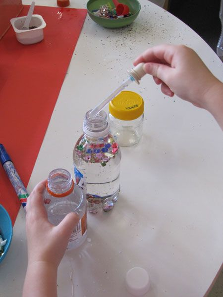 Irresistible Ideas for play based learning » Blog Archive » glitter jars