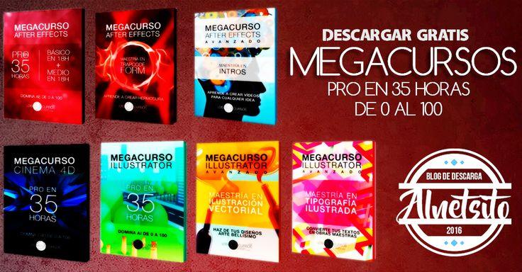 Descargar todos los megacursos gratis por torrent, conviertete en un maestro del diseño. | Alnetsito | Descarga de todo gratis | Peliculas | Series | Libros | Web | Recursos
