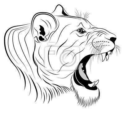 sticker-adesivo-murale-vector-leonessa-rappresentato-sotto-forma-di-un-tatuaggio-da.jpg (400×366)