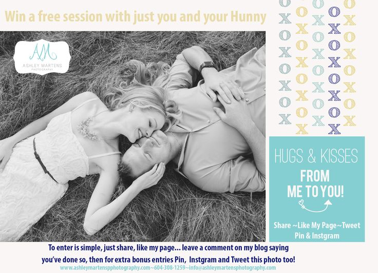 Share the Love {Win a free session with your Hunny}