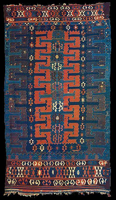 Balikesir Yüncü kilim, Turkey, 19th c.