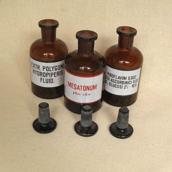 3,4 oz Vintage Amber Glass Bottles, Wholesale Bottles. Glass Bottles, Antique Brown Bottles, Bottles with Caps, Bottles Collection https://www.etsy.com/shop/MyBootSale