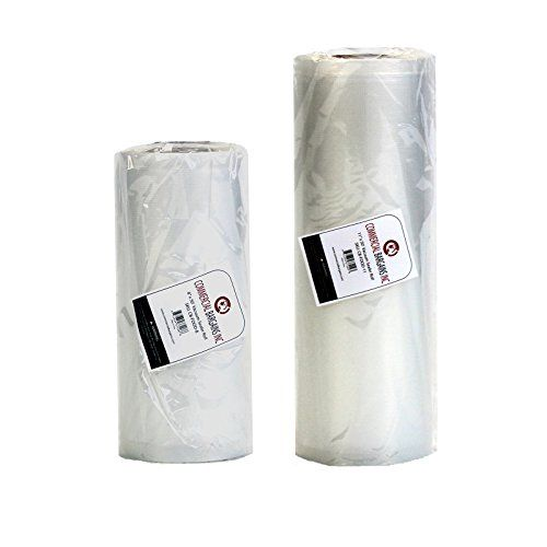 "Commercial Bargains 2 Pack 11"" x 50' and 8"" x 50' Commercial Vacuum Sealer Saver Rolls Food Storage, 2016 Amazon Top Rated Small Appliances  #Kitchen"