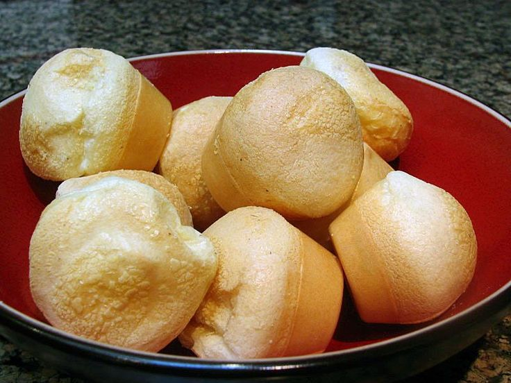 BRAZILIAN PAO DE QUEIJO: Love at first bite!