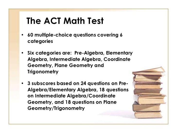 ACT Test Taking Strategies For The ACT Math Test