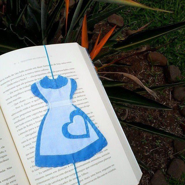 Marcador de página da Alice