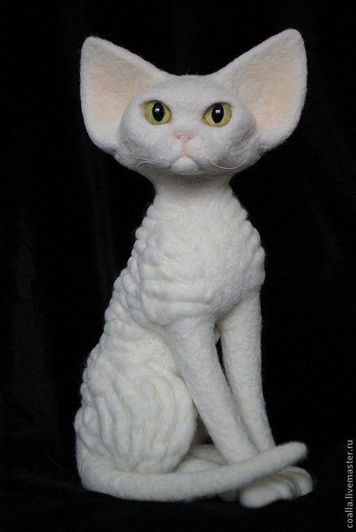Кошка белая порода девон рекс