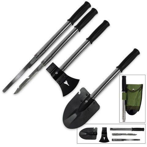 9-IN-1 Ultimate Emergency Survival Tool Kit