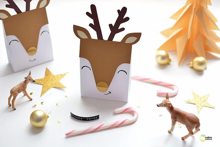 DIY la pochette cadeau de Noël