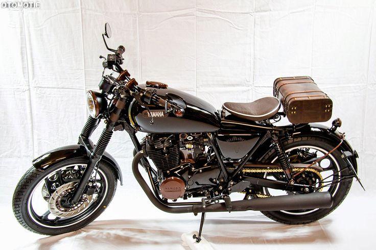 1981 yamaha xs 400 2a2 custom by dirk senz 6 motorrad projekte. Black Bedroom Furniture Sets. Home Design Ideas