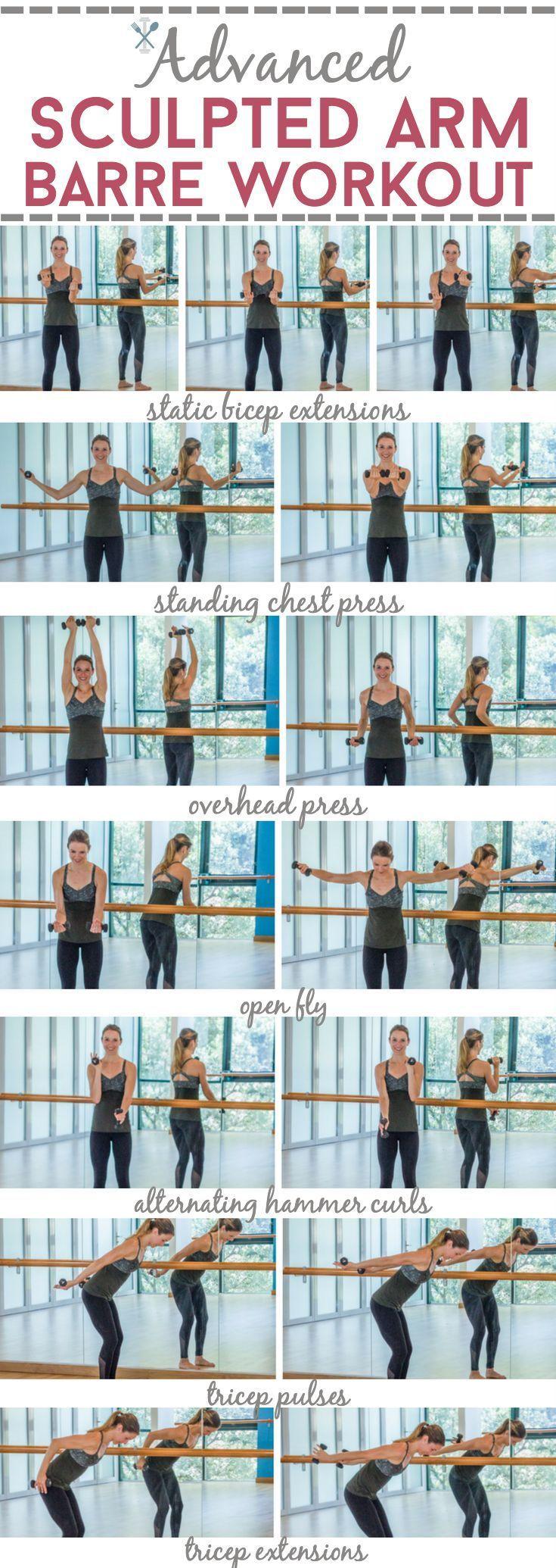 Advanced Sculpted Arm Barre Workout