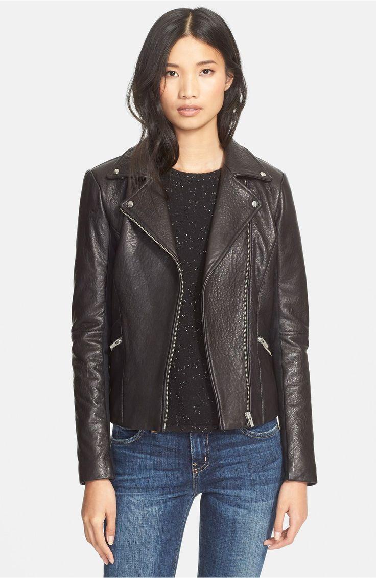 Main Image - VedaDallas Lambskin Leather Jacket