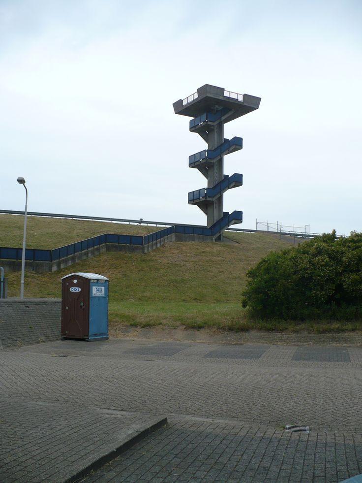toren met uitzicht over grevelingen en de deltawerken