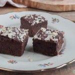 Glutenvrije chocolade brownies van zwarte bonen | Eat.Pure.Love