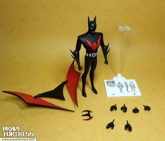 DC Collectibles Batman The Animated Series Batman Beyond with Bruce Wayne and Ace   Brave Fortress