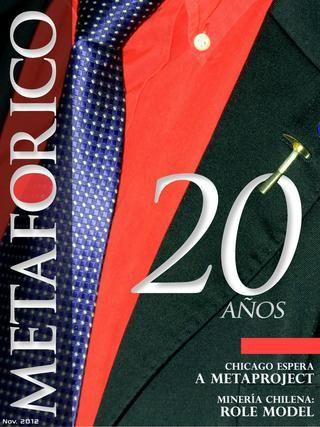 Metaforico nº47  Revista online de Metaproject S.A. - Ingeniería & Innovación: PEGGY CASTELLANO - LIFE CHANGING MINING