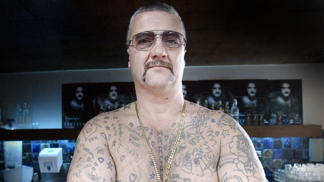 HE was one of the most feared criminals in Australia, a notorious hit man who became famous for chopping his own ears off in prison.