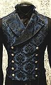 Brocade vest ideas.