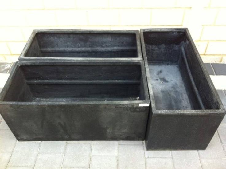 Black planter pots Perth Region image 3