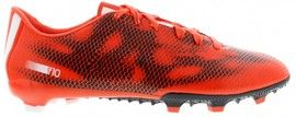 Get the latest solar red Adidas F10 FG Football Boots http://www.soccerbox.com/19117