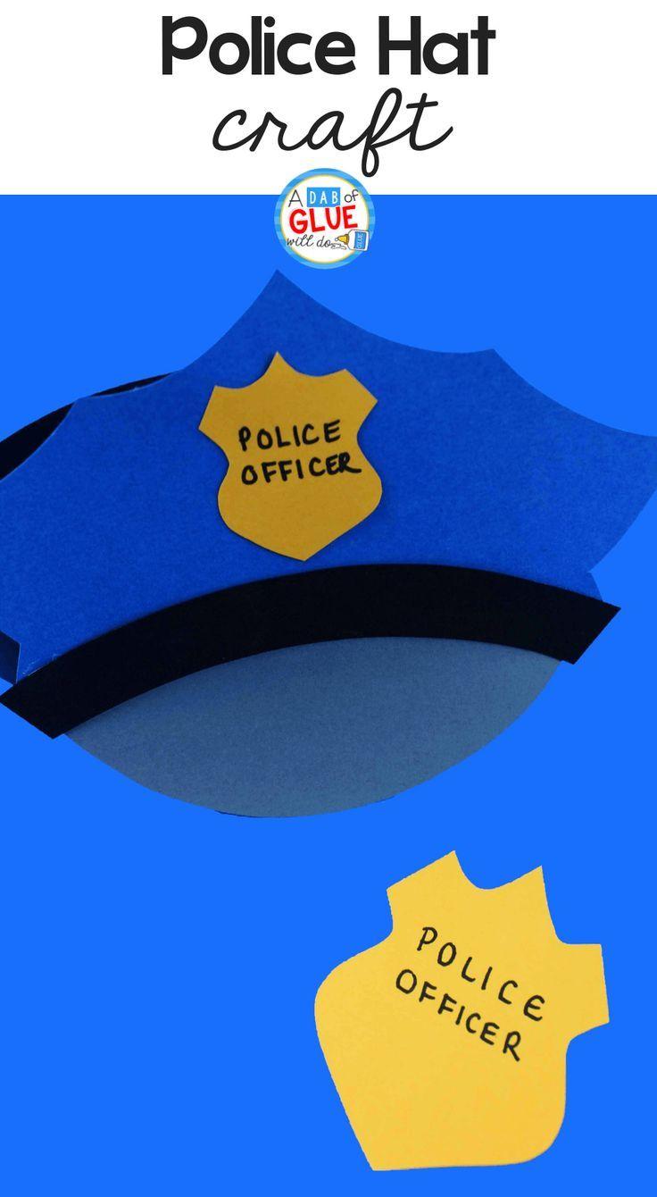 Paper Police Hat Craft