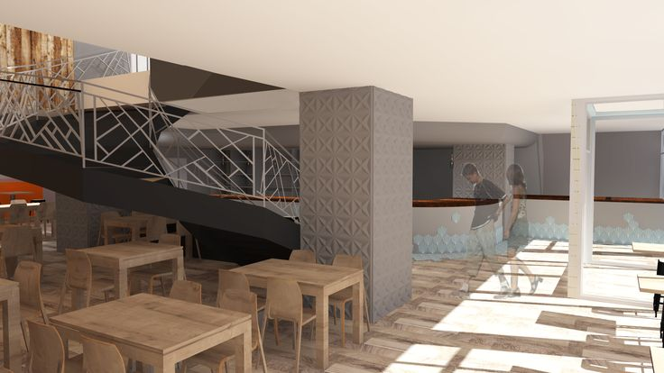 salle de repas cocooning en bois et nature avec des murs végétaux
