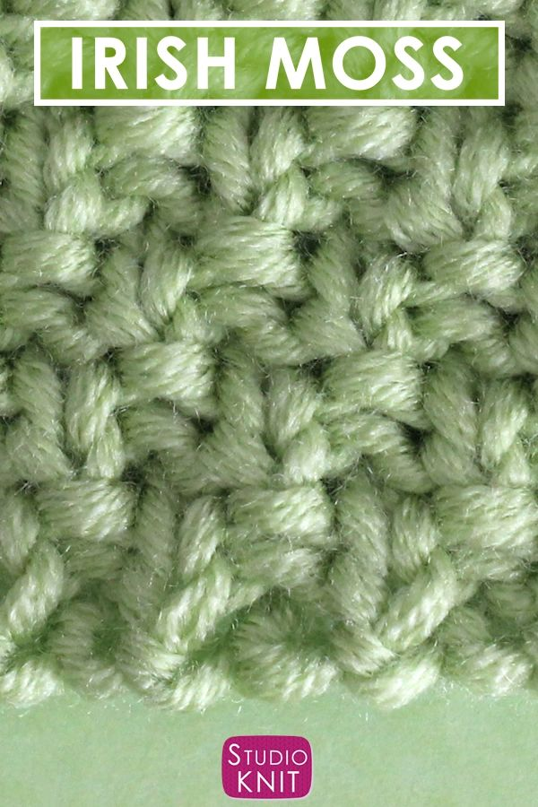 Knit Stitch Pattern E-Book For Beginning Knitters By Etsy